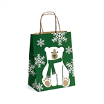 Chimp Woodland Critters Bear Shopping Bags