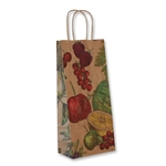 Single Bottle Fruit Bowl Wine Bags