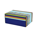 Small Birthday Candles Patterned Shipping Boxes - 48 Pack