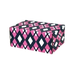 Small Preppy Patterned Shipping Boxes - 48 Pack