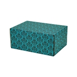 Small Florentine Patterned Shipping Boxes - 6 Pack