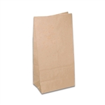 10 lb. SOS Paper Bags - Smooth Kraft