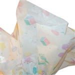Baby Prints Satinwrap tissue