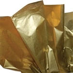 Gold Leaf Metallic Satinwrap tissue
