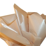 Pearlescence Satinwrap tissue Champagne