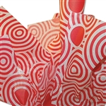 Red Lollipop Satinwrap tissue