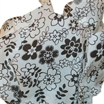 Retro Flowers printed tissue