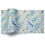 Sea Glass Printed Satinwrap tissue