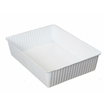 1 Cavity Tin Insert for 12RECS Rectangle Tins - 72 Inserts/Pack