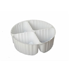 Tin Inserts - 4 cavity cookie tin plastic inserts