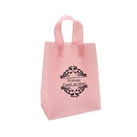 Personalized Wedding Reception Bags - Frosted Rose