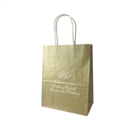 Personalized Wedding Reception Bags - Gold