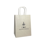 Personalized Wedding Reception Bags - Oatmeal