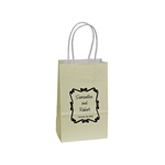 Personalized Wedding Reception Bags - Ivory