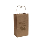 Personalized Wedding Reception Bags - Kraft
