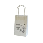 Personalized Wedding Reception Bags - White