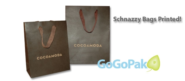 Custom Printed Paper Shopping Bags- Euro Totes - Wholesale Prices