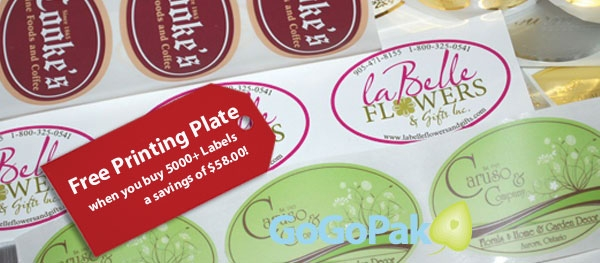 Custom Printed Labels Tags Offering All Print Processes Including Foil Stamping Flexography And Multi Colored Short Run Digital