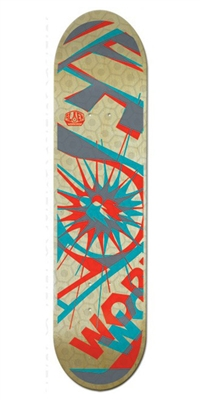 Alien Workshop Glyph Hex Mark Large Skateboard Deck - 8.25