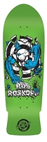 Santa Cruz Rob Target 3 Reissue Skateboard Deck - Fluorescent Green - 10.25