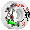 Bones Gravette Bonkers STF Skateboard Wheels - 51mm