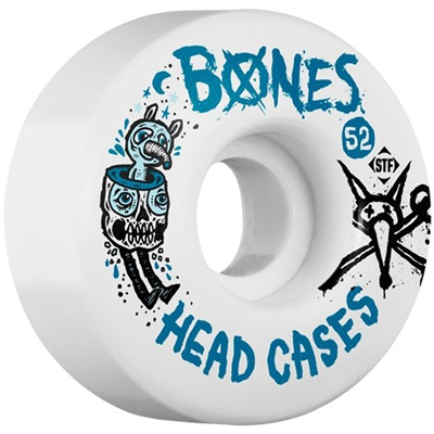 Bones Head Case STF Skateboard Wheels - 52mm