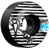 Bones Strokes SPF Skateboard Wheels - Black 52mm