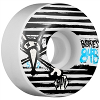 Bones Strokes SPF Skateboard Wheels - White 52mm