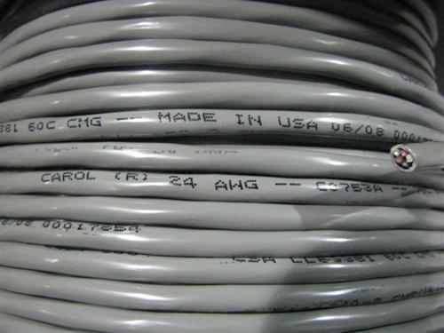 C0753 24G 5C O/S PVC Multi-Conductor, Foil Shield CABLE