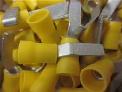 12-10 AWG Lipped Blade Terminals