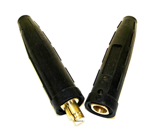 Welding Cable Connector Set 3 0 4 0 500amp Male Female