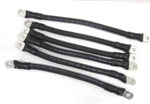 # 1 Awg Golf Cart Battery Cables EZ GO 94 & UP BLK
