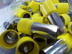 2/0 FERRULE YELLOW (50 PCS BAG)