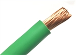 1/0  WELDING CABLE GREEN