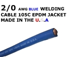 2/0  WELDING CABLE BLUE