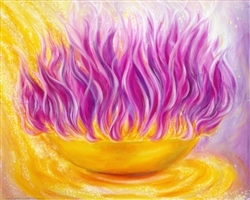 Thoughtform for 2014 - Golden Bowl of Violet Flame