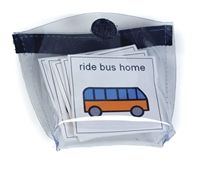 Clear Mini Storage Pouches