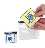 Clear Picture Pockets with Hook Strip