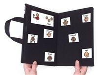 Portable Bi-fold Communication Folder