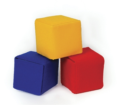 "Cube - Learning Fun, 4"", Red"