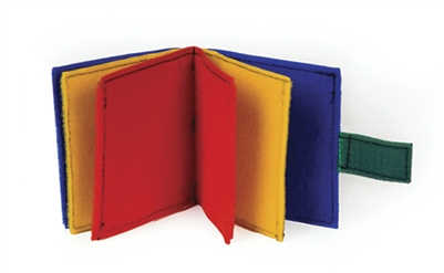 Book - Multicolor Mini Fabric