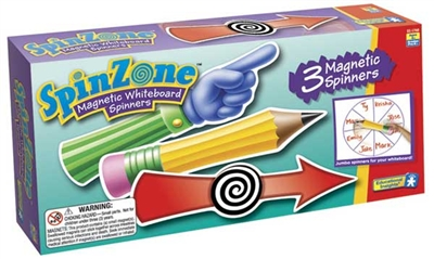 Spin Zone Magnetic Whiteboard Spinners