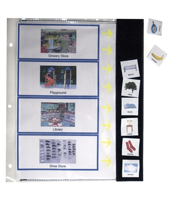 Notebook Pages, Create a Fabric Strip