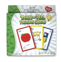 SENSEational Alphabet Touch & Feel Picture Cards