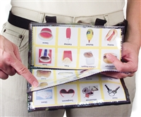 Communicator, Portable Waist  - Clear Pocket Pages