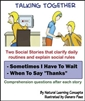 Social Skills Books - SEE ALL DIFFERENT BOOKS -Talking Together (Sold Individually)