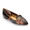 "Edna-449 Pointed Smoking Slipper in ""Music of the Spheres"" by David Delamare"