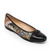 """Woman and Child"" Ballet Flat w/Solid Cap Toe by Gustav Klimt"