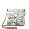 "Laurie-451 North South Messenger Bag in ""Almond Branch"" by Vincent Van Gogh"