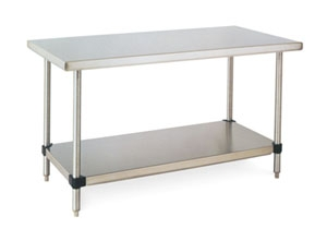 Metro WTFS X Stainless Steel Work Table With Stainless - Stainless steel work table price